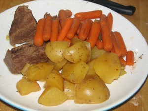 Pot roast, a Sunday tradition
